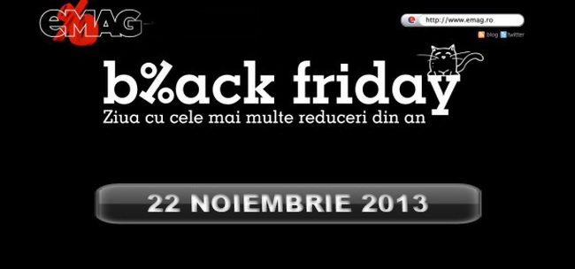 Vezi Black Friday la EMAG